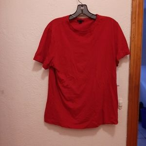 Red theory T-shirt
